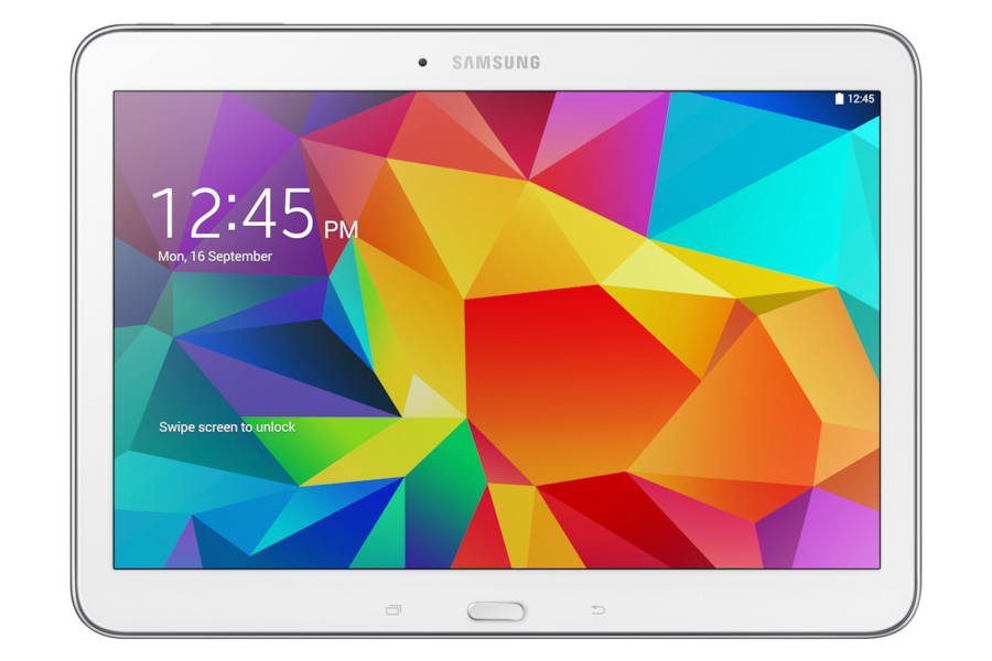 Galaxy Tab 4 (10.1, 3G) T531 Front White