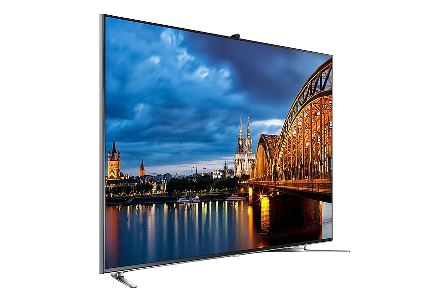 UA65F8000AR Left Perspective-10 black