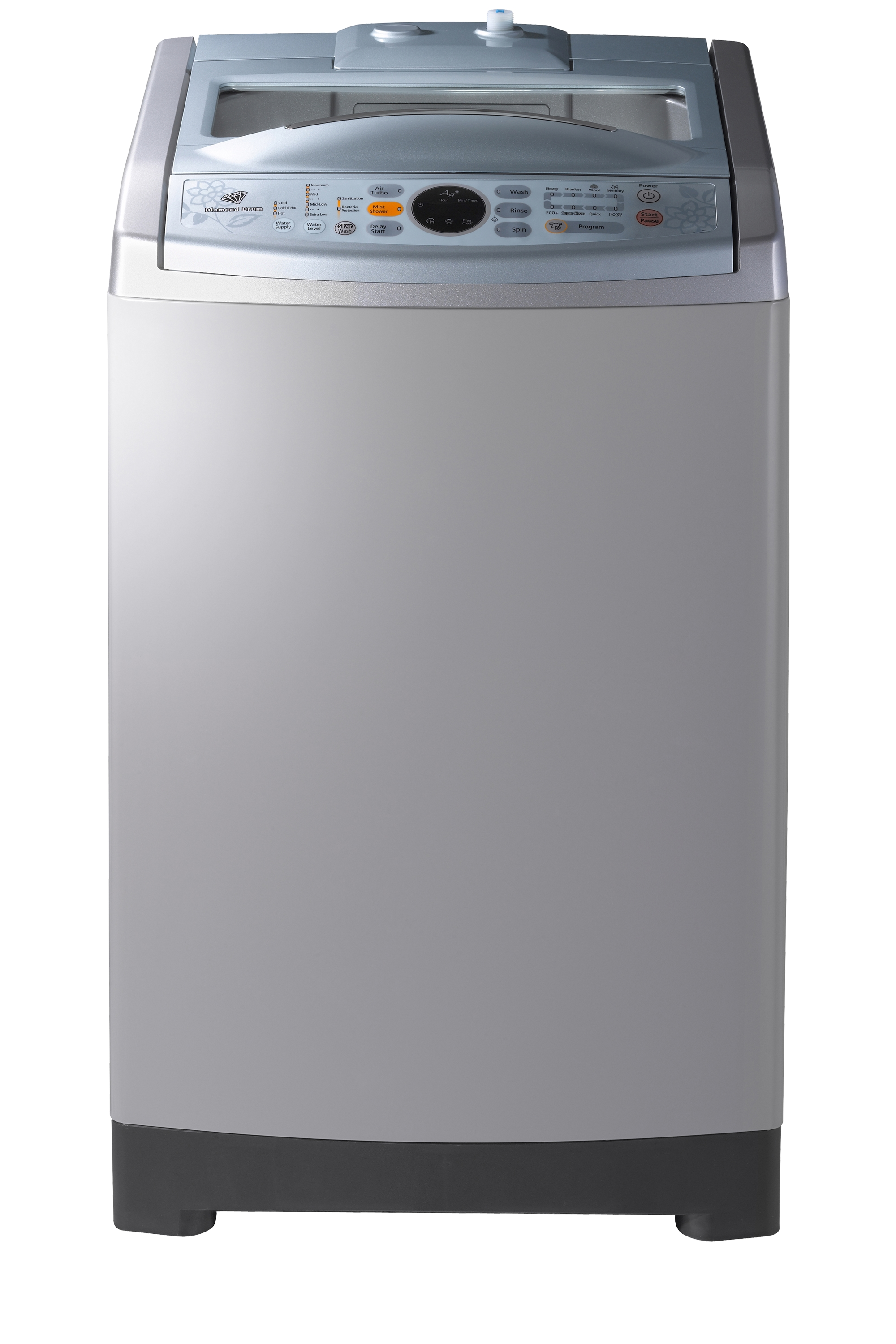 Poseidon2 Top Loader with Air Turbo Dry, 11 kg, Imperial Silver