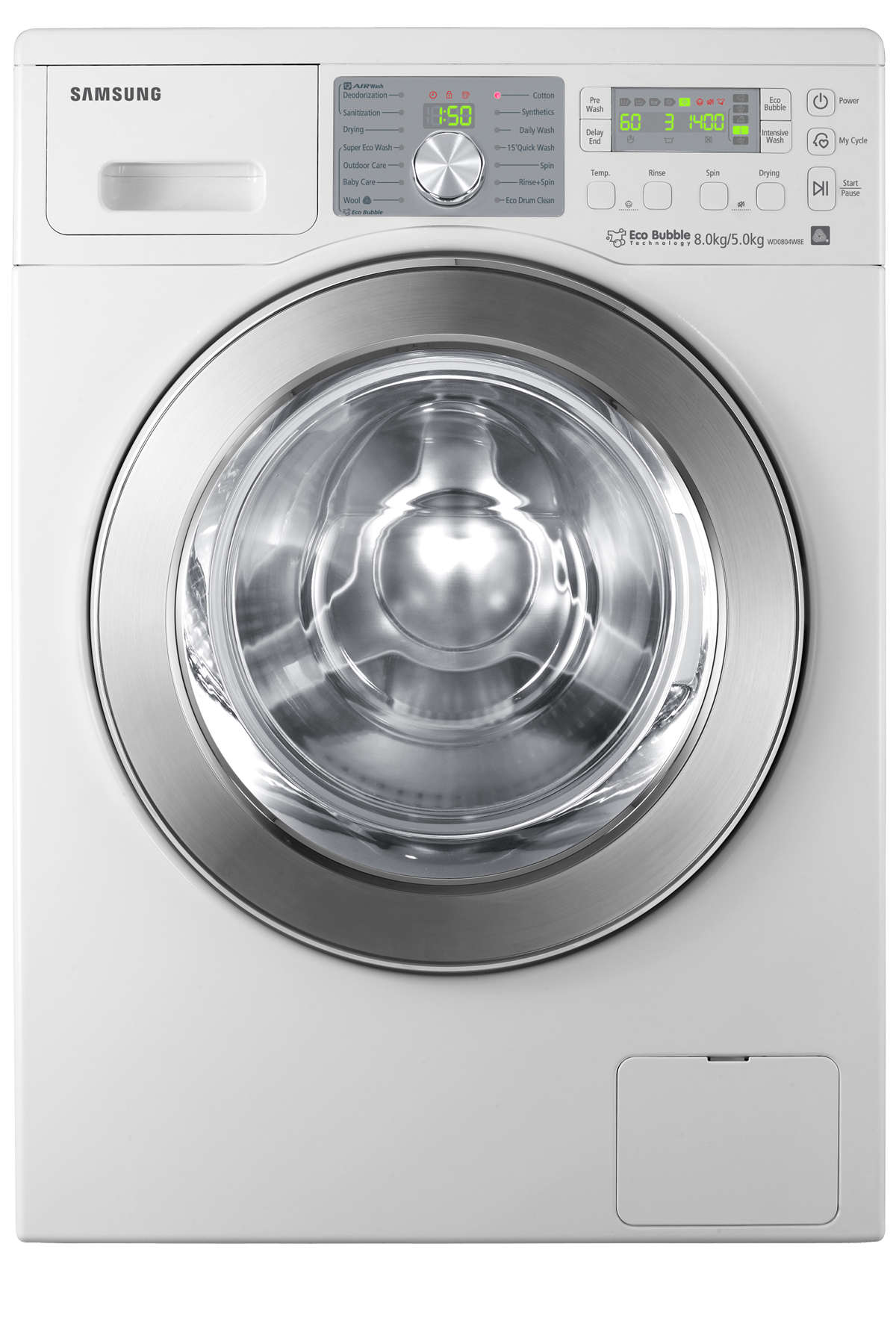 8 kg Front Load Washing Machine WD0804W8E1