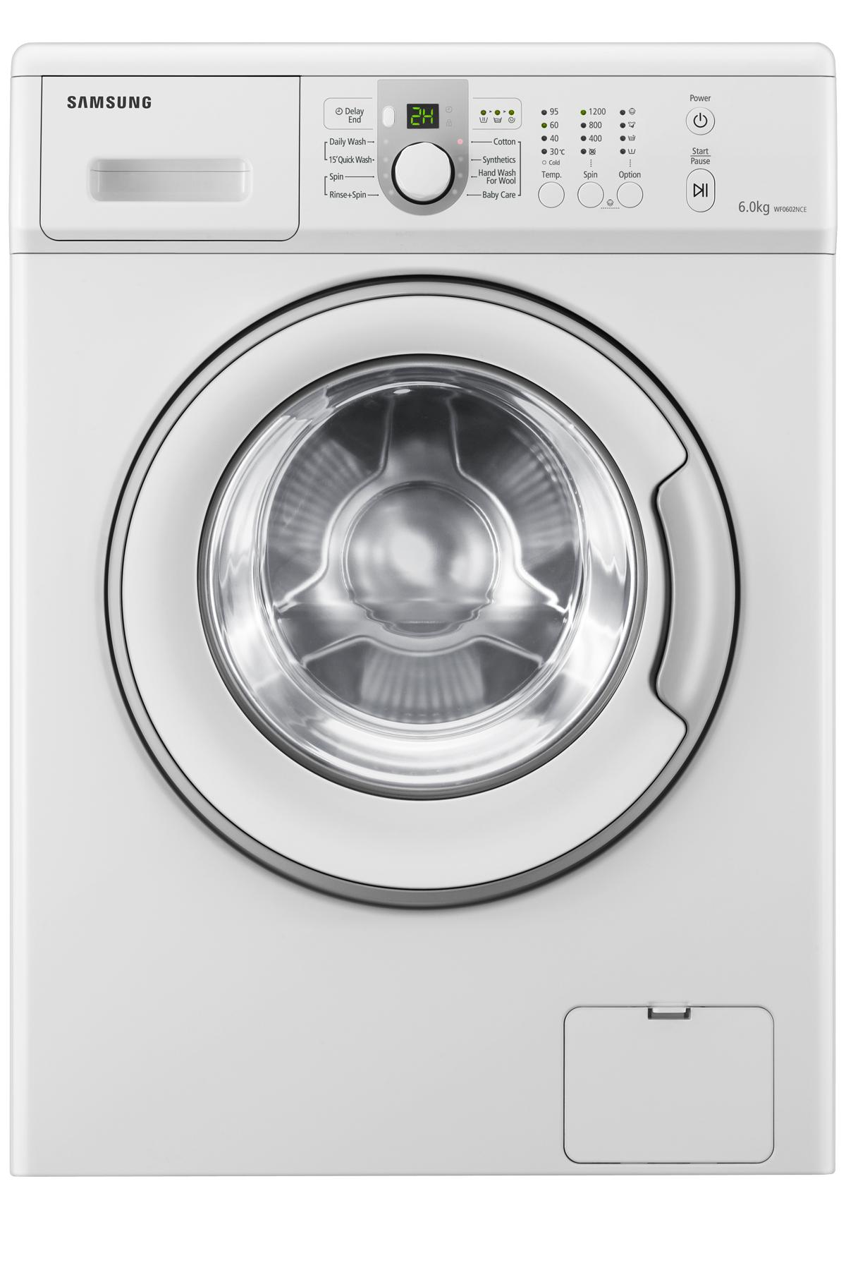 Aegis Bigbang Washer with Eco Bubble, 6 kg, White