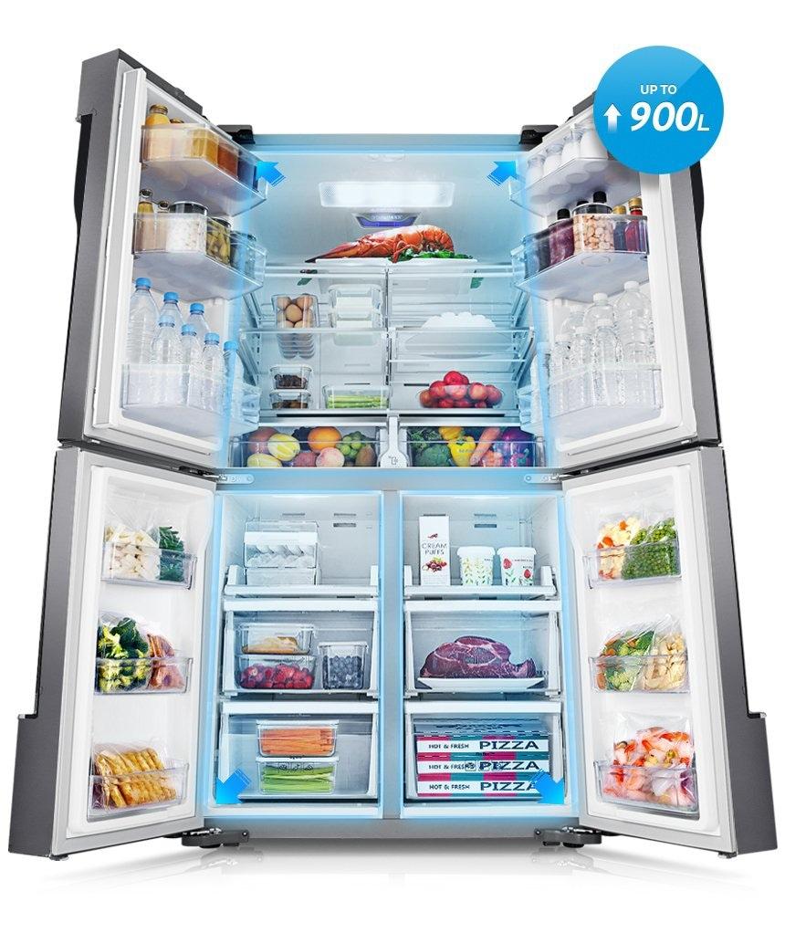 T9000 Fdr With Triple Cooling 765 L Rf858qalaxwsg Samsung Pk
