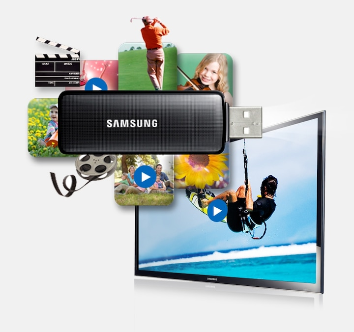 Watch movies from your USB