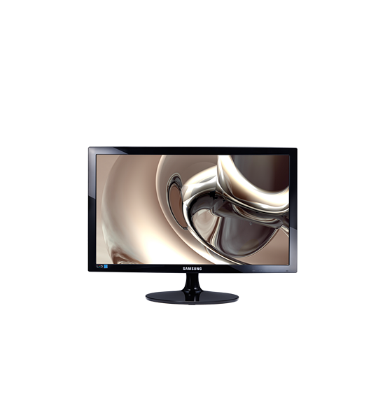 "24"" LED monitor with sharp picture quality"