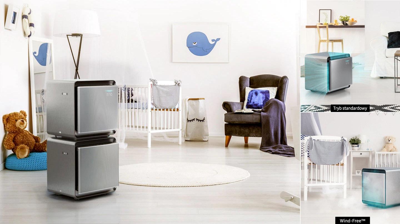 Łagodny powiew czystego powietrza