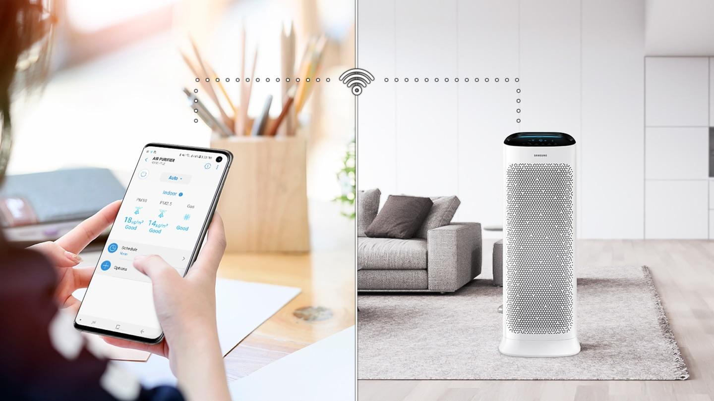 Control remotely via smartphone