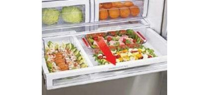 Wysuwana szuflada z regulowaną temperaturą