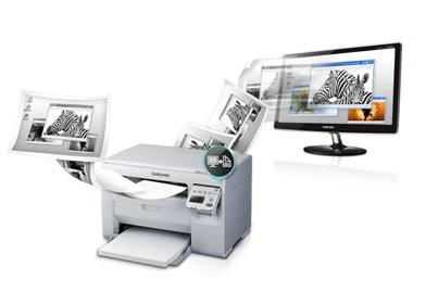 Z monitora na kartkę papieru za pomocą jednego przycisku