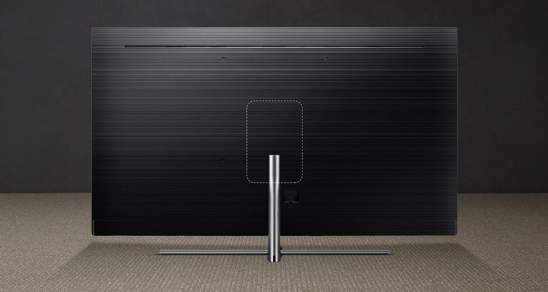 Dzięki One Mount w telewizorze Samsung QE65Q7FNATXXH umieścisz swój telewizor QLED w dowolny sposób