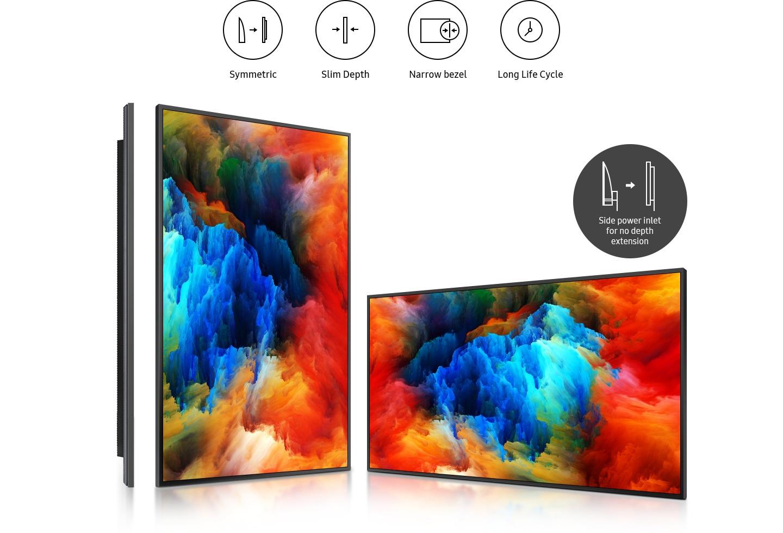 Monitor-Samsung-QM43R-piękny-design