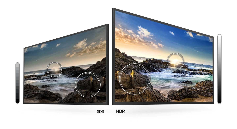 HDR w Crystal UHD TV TU7102 dostarcza szeroką gamę jasności, która sprawia, że zauważysz każdy detal nawet w ciemnej scenie oglądanego filmu