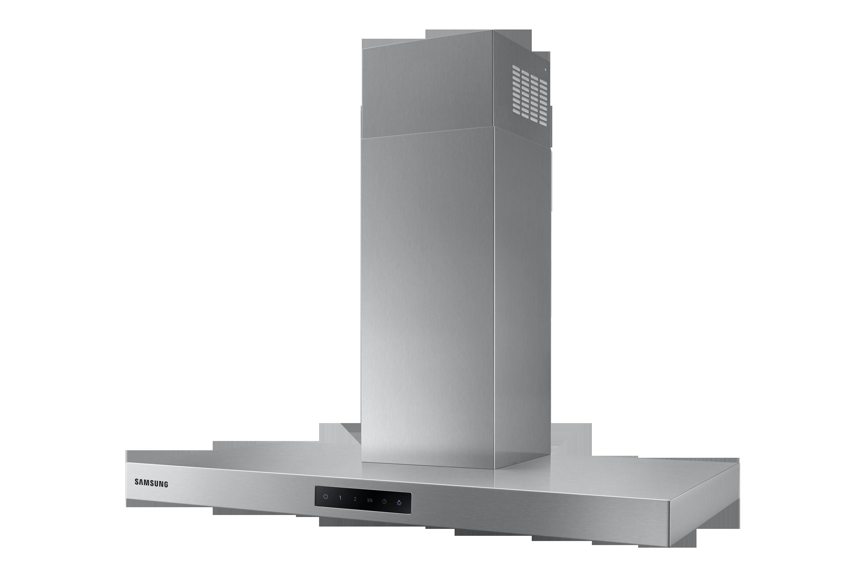 NK36M5060SS, Okap kominowy ze sterowaniem dotykowym o wydajności 668 m3/h
