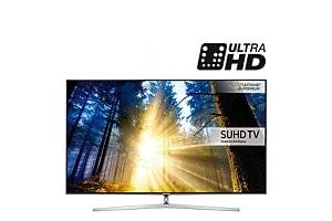 Telewizor Samsung SUHD KS8000 65 cali z technologią Quantum Dot - czarny