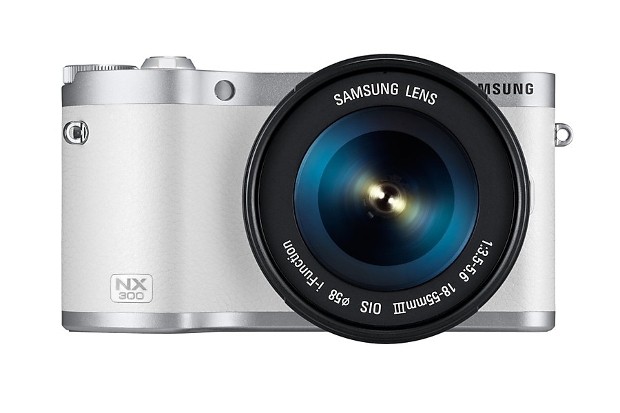 NX300 Front With Lens White