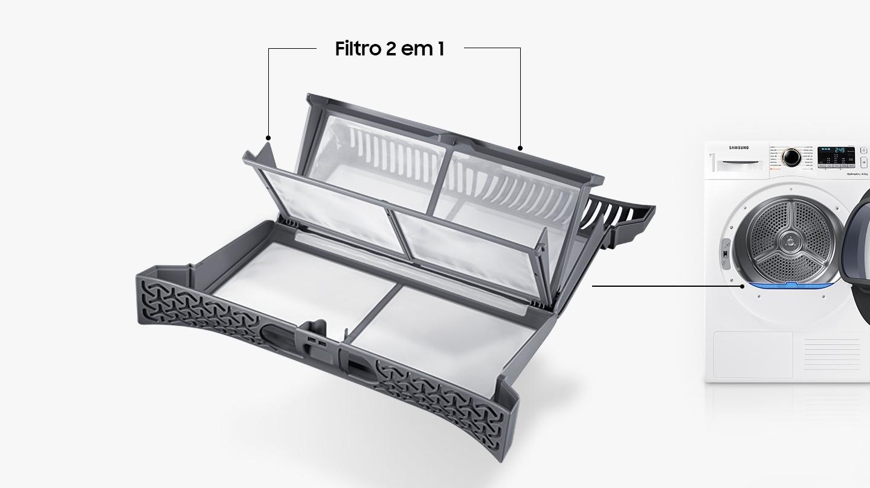 Filtro 2 em 1