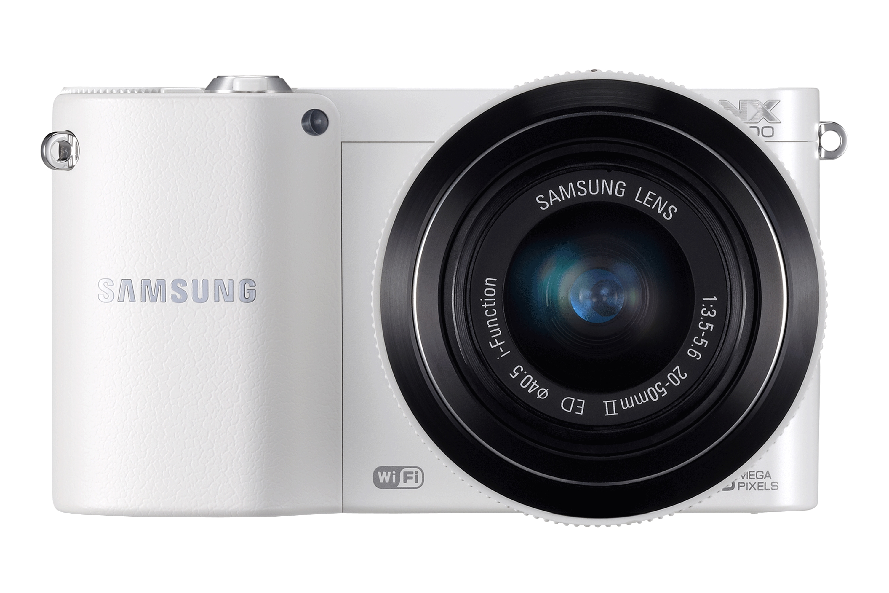 NX1100 Front With Lens Branco