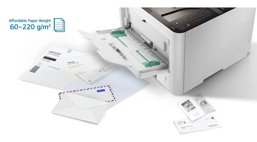 Más opciones de impresión para documentos profesionales