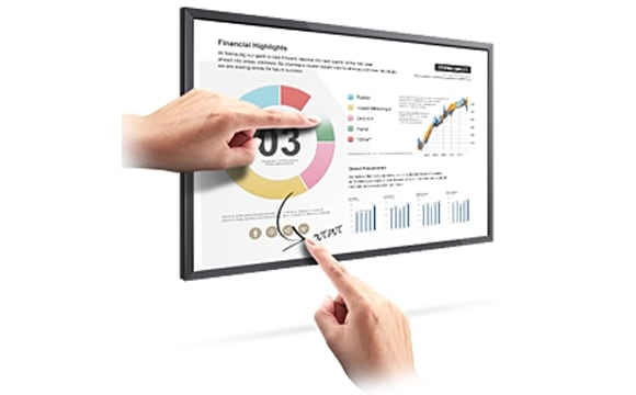 Transform Existing LFDs into Interactive Touchscreens