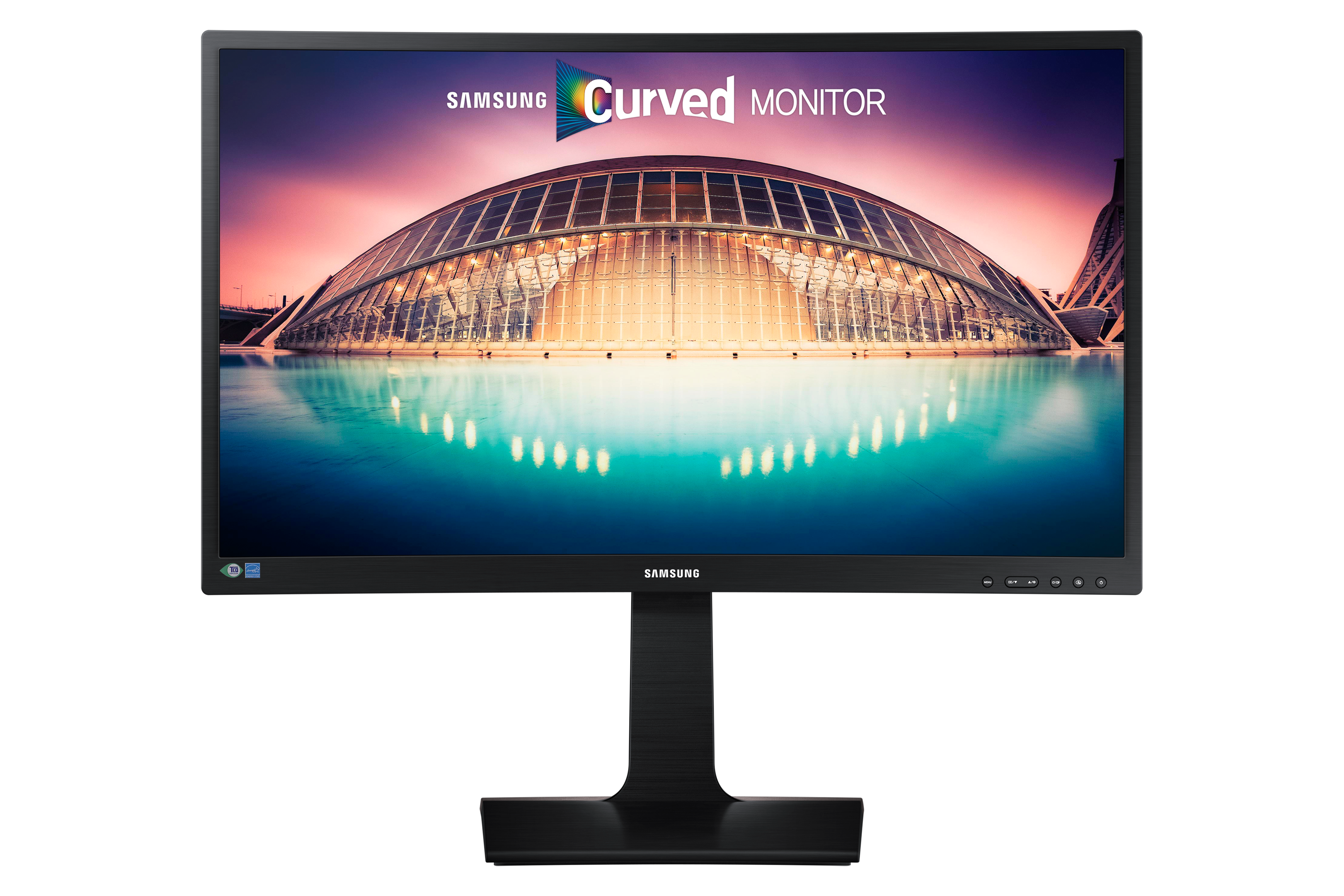 "24"" Monitor LED Curbat cu SMART Eco Saving"
