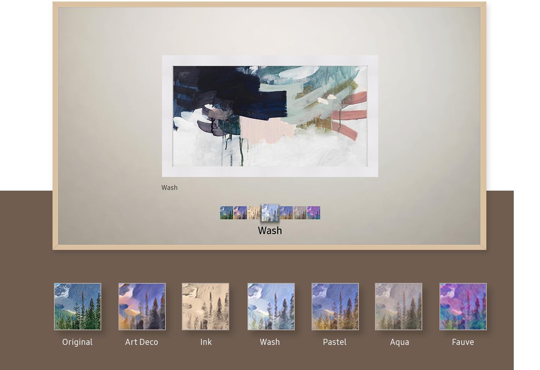 Adaugă filtre artistice fotografiilor tale.