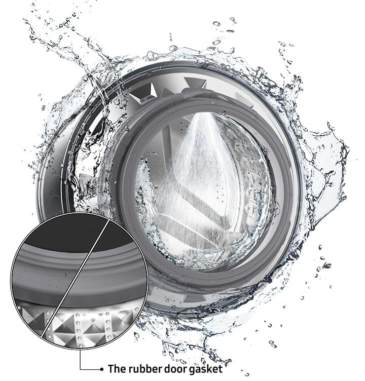 Полная очистка внутри стиральной машины