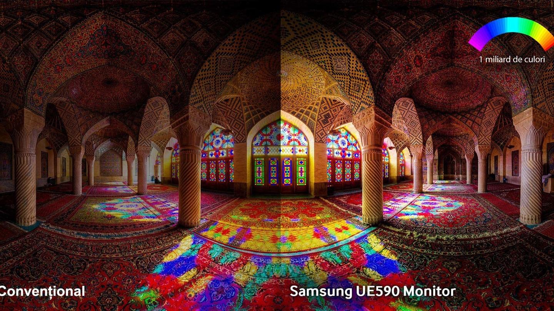 Bucurați-vă de o calitate de neegalat a imaginii, cu o rezoluție extrem de clară și miliarde de culori