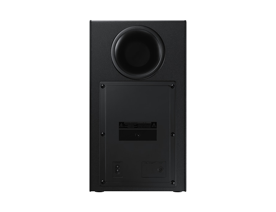 subwoofer-back black