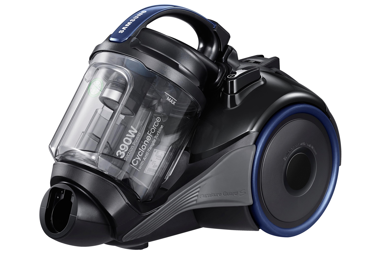 VC4100K, пылесос без мешка для сбора пыли, 1500/390Вт