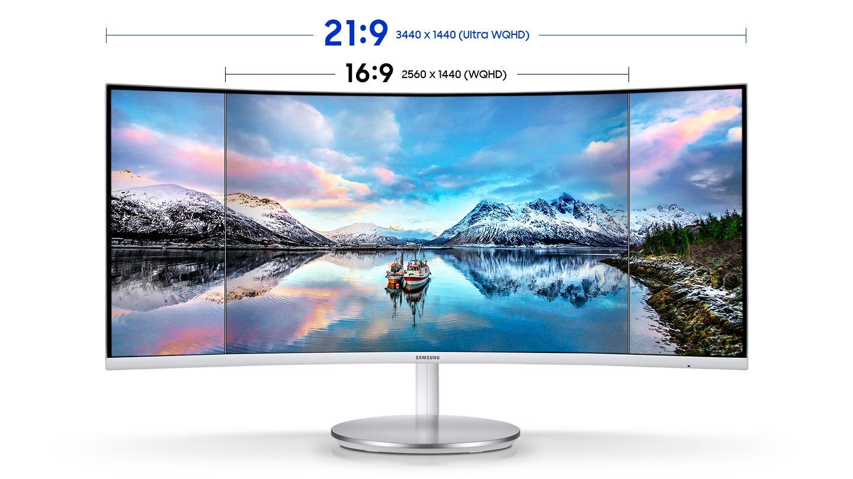 "34"" Ultra-Wide Screen"