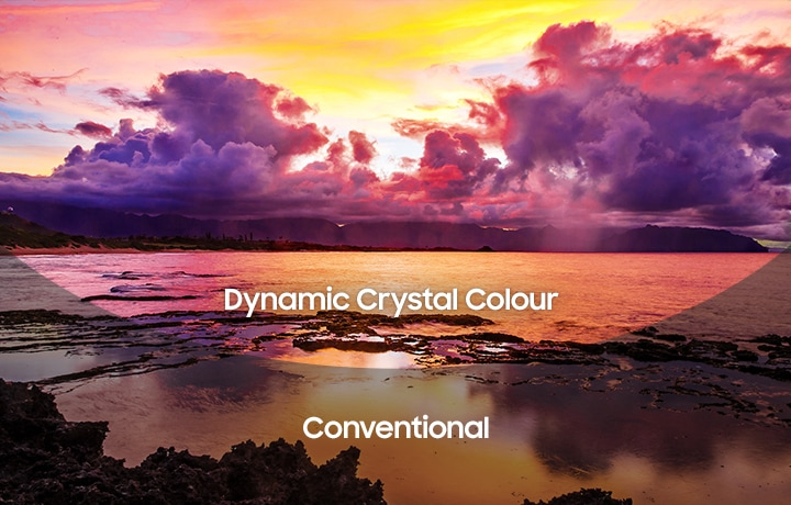 Технология Dynamic Crystal Color