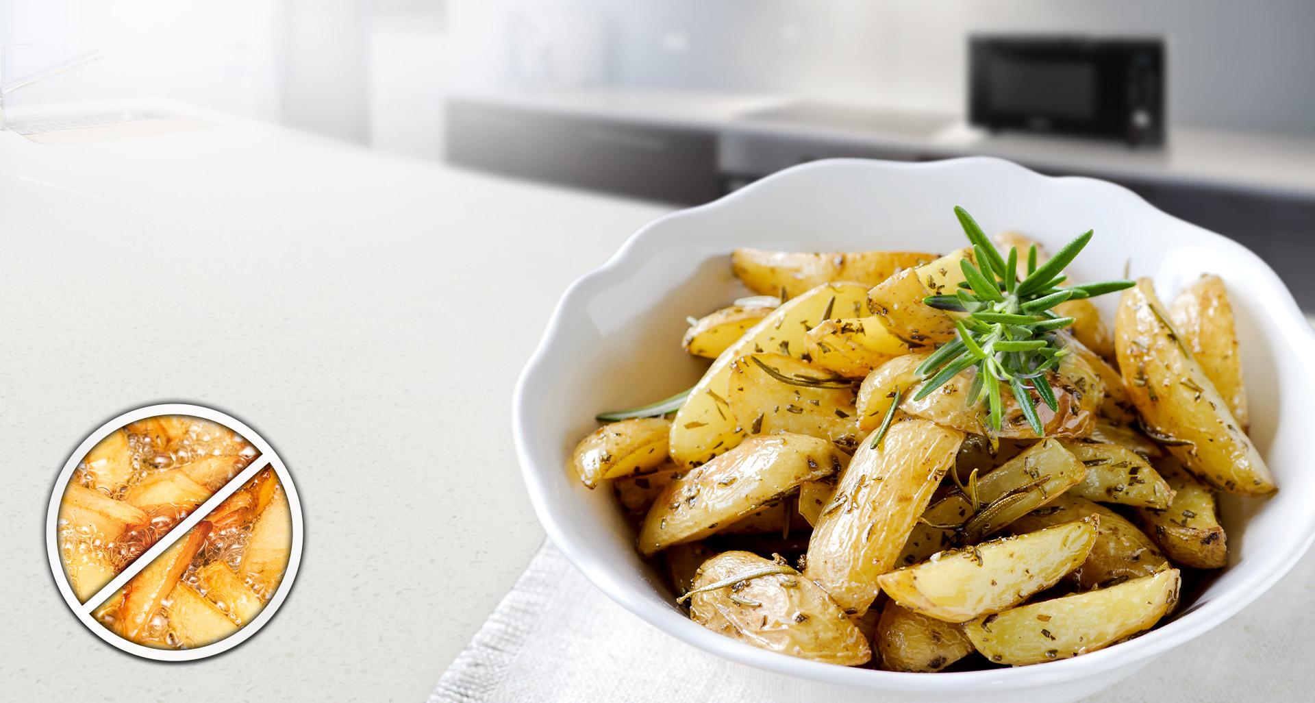 Оцените вкус здоровых жареных блюд