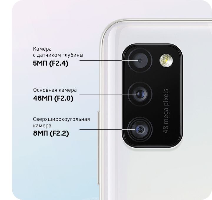 Triple camera to capture your live moments