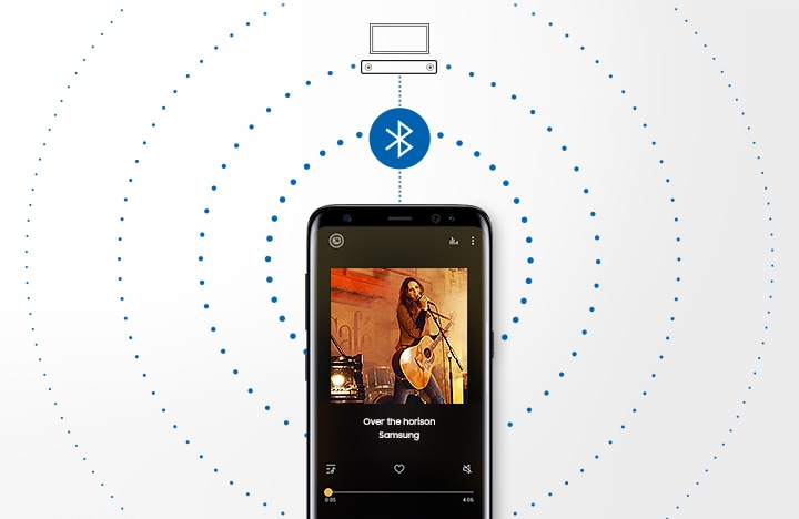 Music streaming via Bluetooth