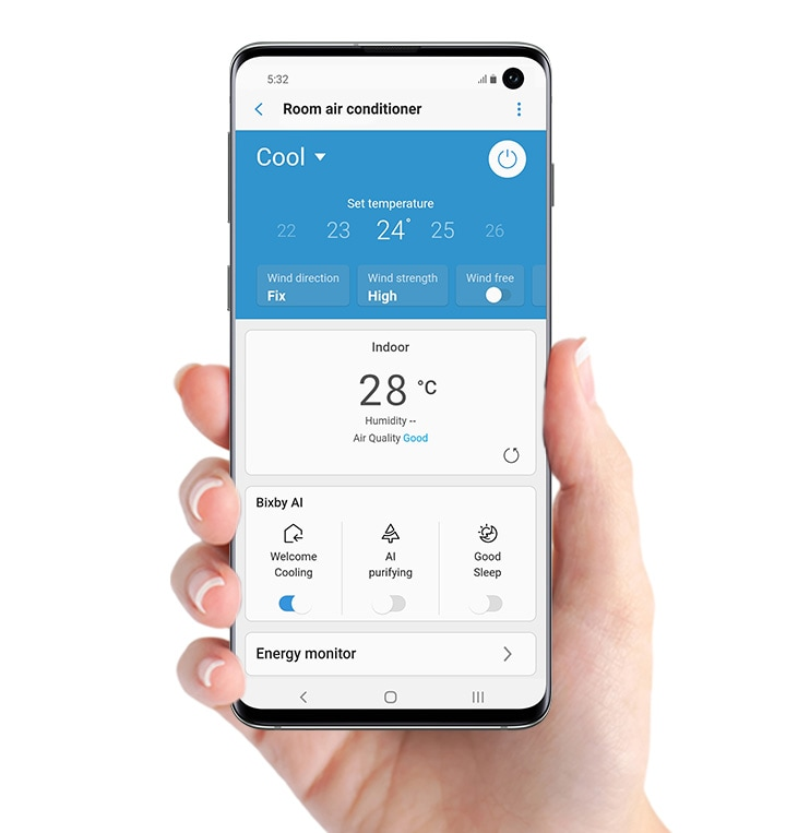 Remotely control it anytime, anywhere