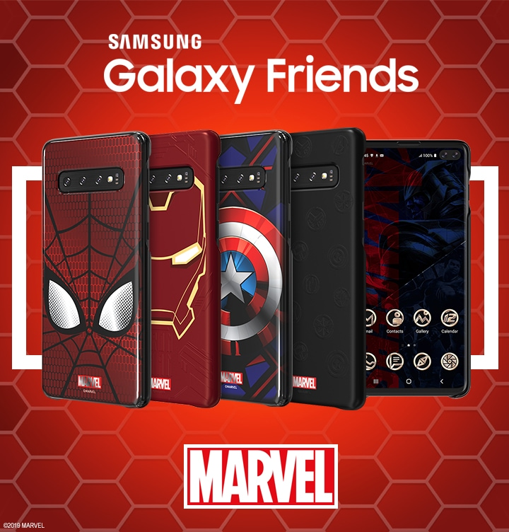 Чехлы Galaxy Friends x MARVEL