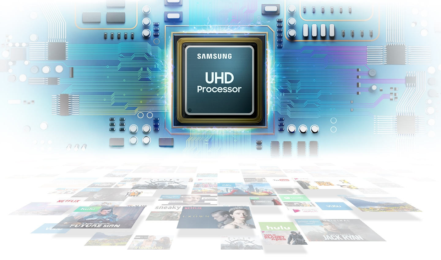 UHD Processor,powerful picture quality