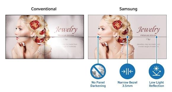 Узкая рамка и великолепный дизайн привлекут внимание потребителей