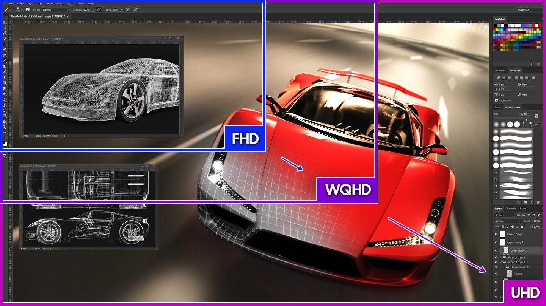 Widescreen UHD