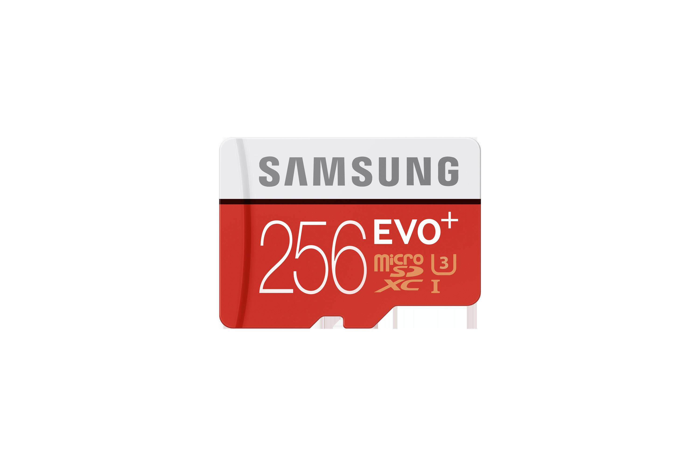 Карта Micro SD <b>EVO PLUS</b> MB-MC256DA/RU