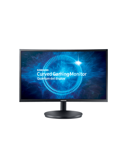 """24"""" Curved Monitor With Quantum Dot Technology"""