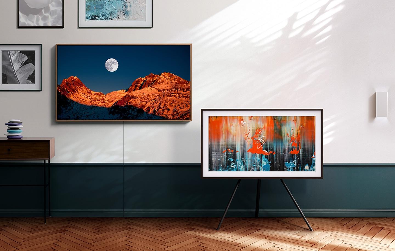 TV when it†s on. Art when it†s off.