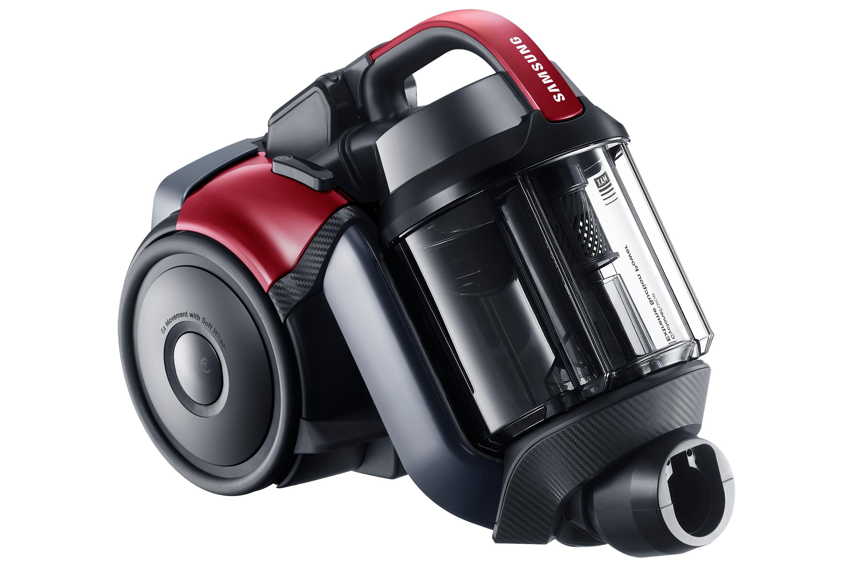 VCF500G påslös dammsugare med extrem sugkraft, 700W, Vitality Red