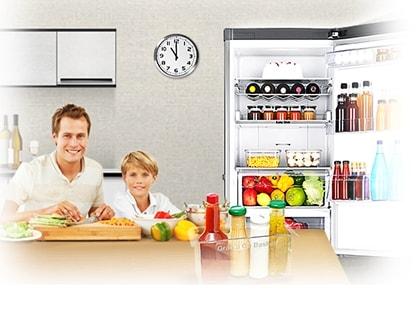 Grab & Go-låda kylskåp