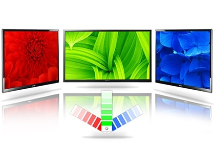 More vibrant colors for better images