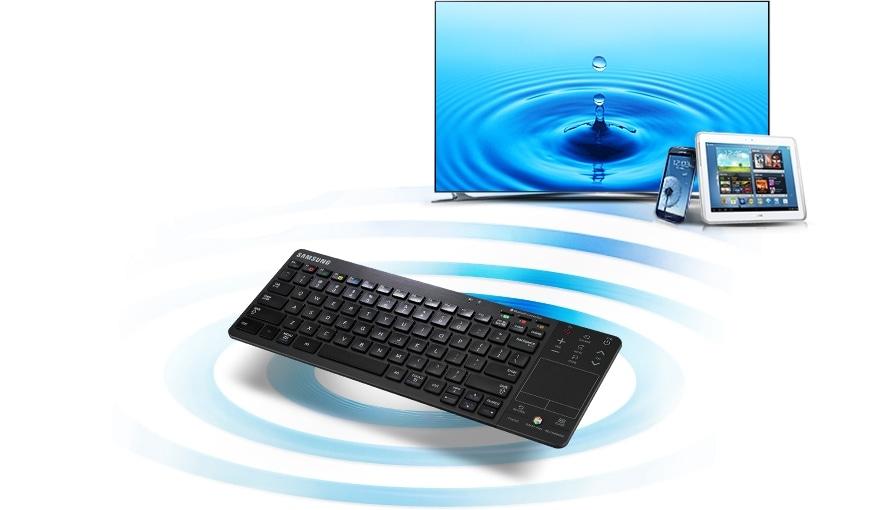 Kontrollera flera enheter med ett enda tangentbord
