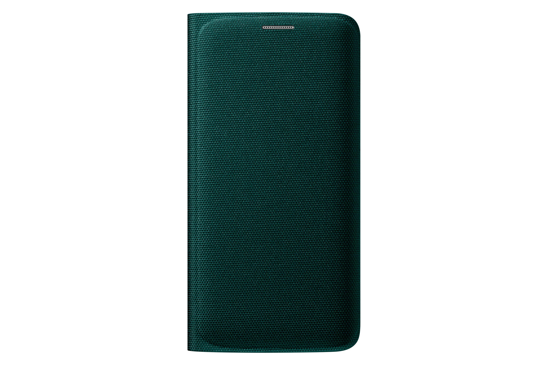 Flip Wallet i tyg - Galaxy S6 edge