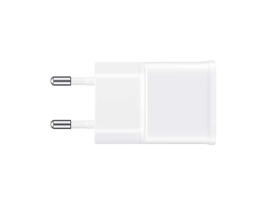 Samsung original laddare med kabel EP TA20EWEUGWW