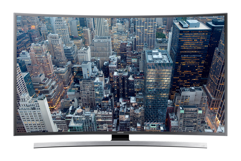 "55"" UHD 4K Curved Smart TV JU6655"