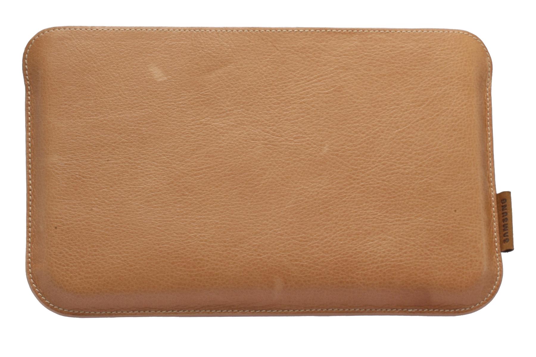 Skyddande läderfodral Galaxy Tab Brunt  EF-C980LCE