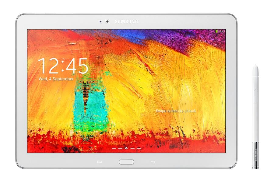 Galaxy Note 2014 Edition (10.1, 4G) P605 Framsida Vit